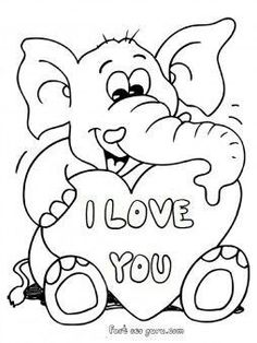 236x314 Valentine's Coloring Pages Free Printable, Free And Free