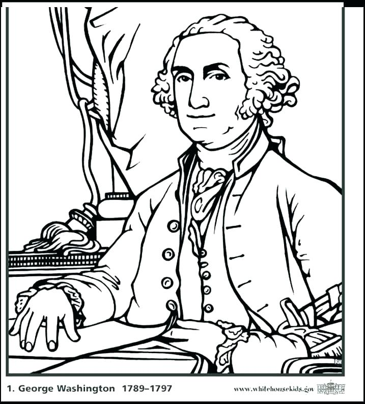 717x794 Barack Obama Coloring Page Coloring Book Also President Coloring