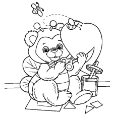 Valentines Day Free Printable Coloring Pages at GetDrawings ...