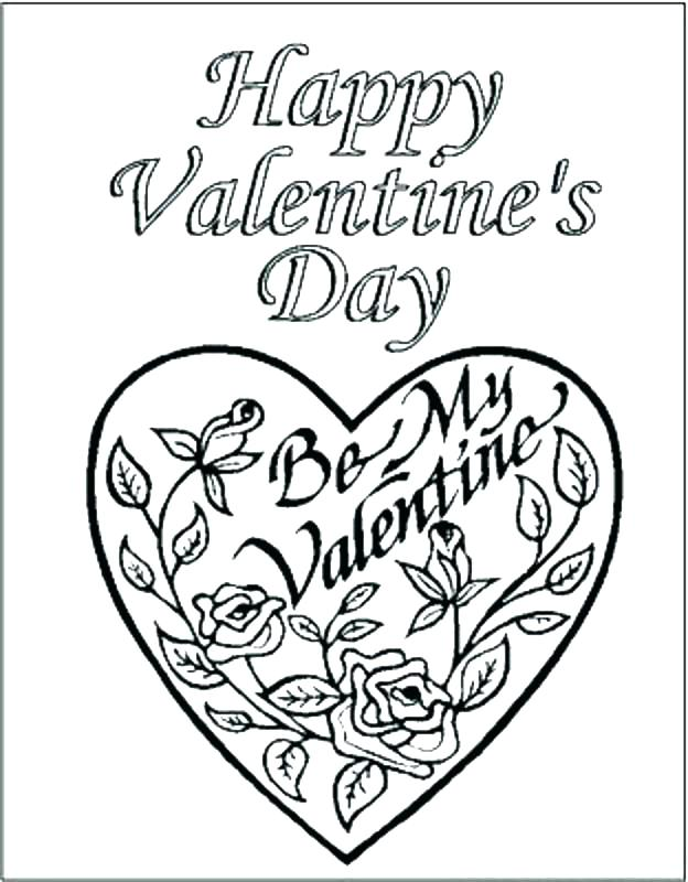 624x800 Valentine Heart Coloring Pages Cute Heart Coloring Pages Cute