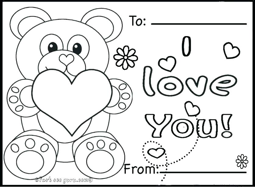 837x616 Valentine Hearts To Color