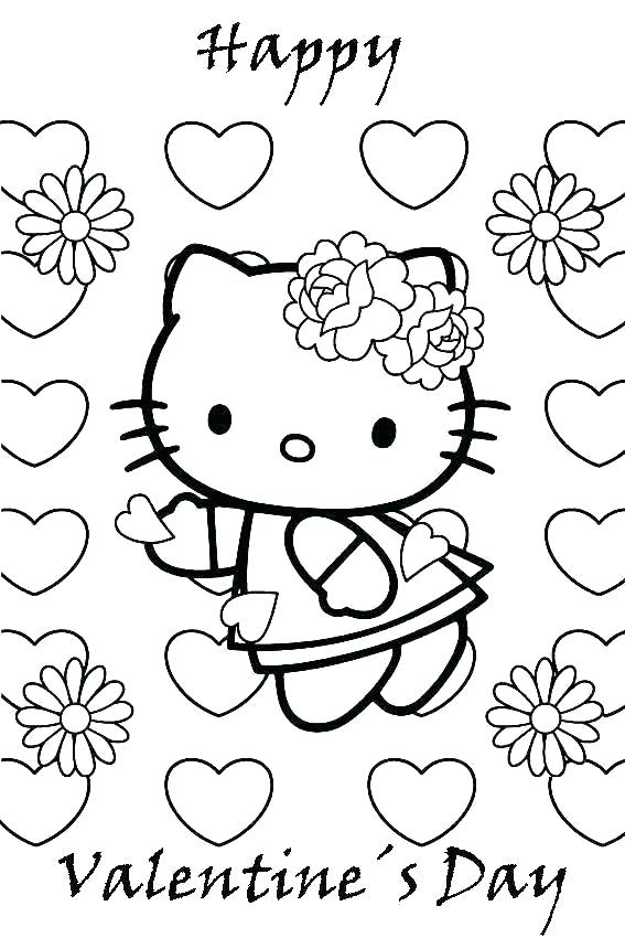 567x850 Free Printable Valentines Day Coloring Pages Valentines Day Online