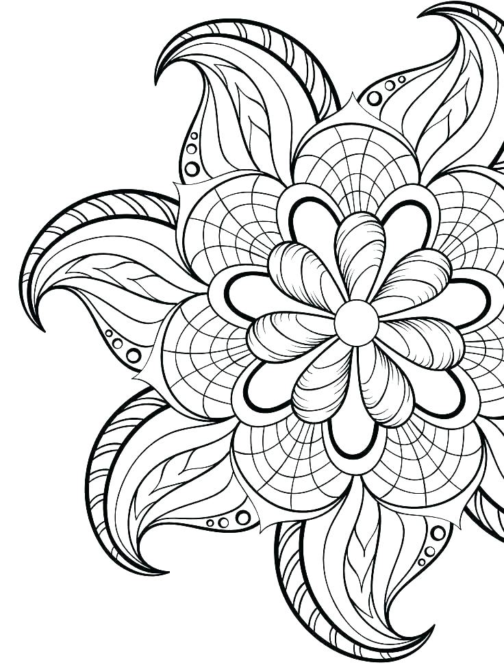 736x971 Online Coloring Pages Valentines Day Mandala Printable Also Luxury