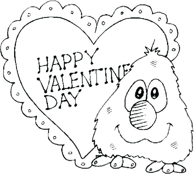 618x555 Valentine Day Coloring Pictures Valentines Day Online Coloring