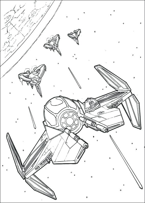 567x794 Color Pages For Kids Free Printable Star Wars Coloring Pages