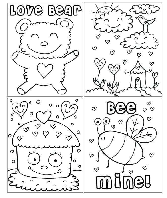 674x800 Valentines Day Coloring Book