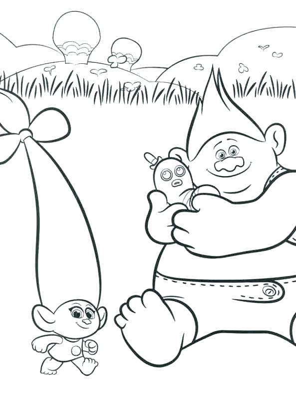 593x832 Coloring Book Pages For Kids Trolls Coloring Book Pages Plus