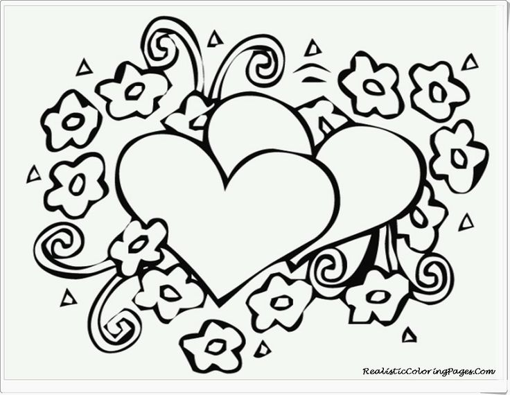 Valentines Day Printable Coloring Pages At Getdrawings Free Download