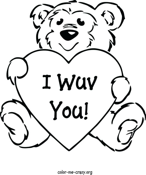 615x738 Free Valentines Day Printable Coloring Pages Valentine Day