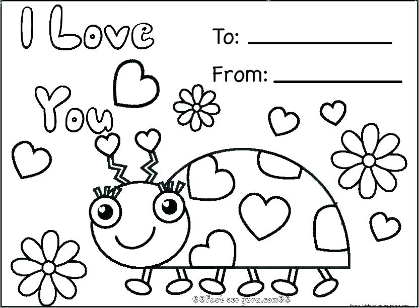 832x612 St Valentine Coloring Pages Coloring Page Valentine Cards Coloring