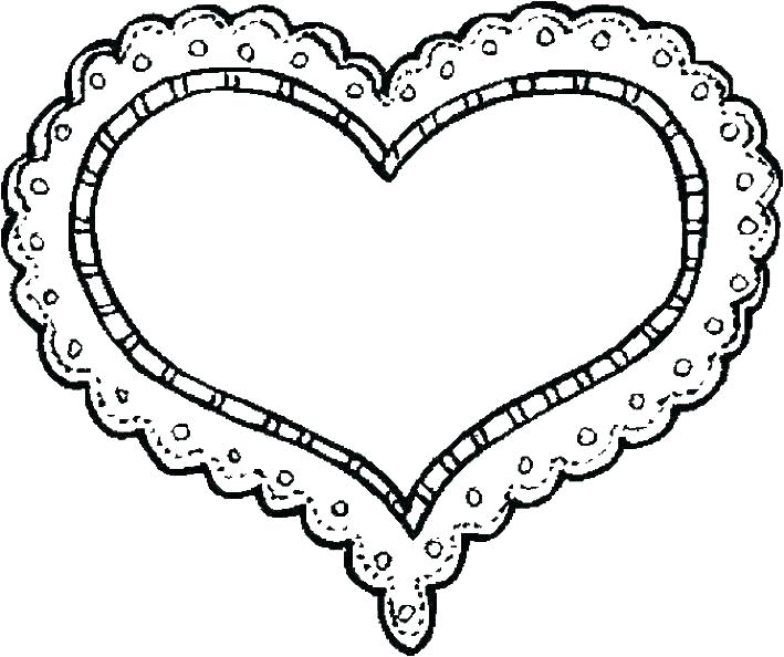 709x594 Free Printable Coloring Pages For Valentines Day Coloring Sheets