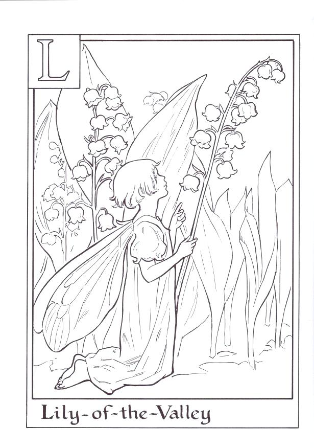 Valley Coloring Pages