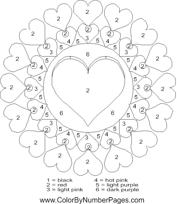 Valtine Coloring Pages