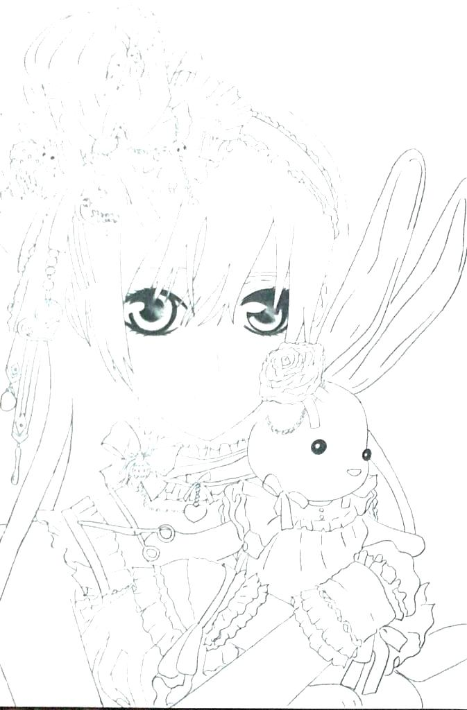 673x1024 Anime Coloring Pages Online Vampire Coloring Pages Vampire Knight