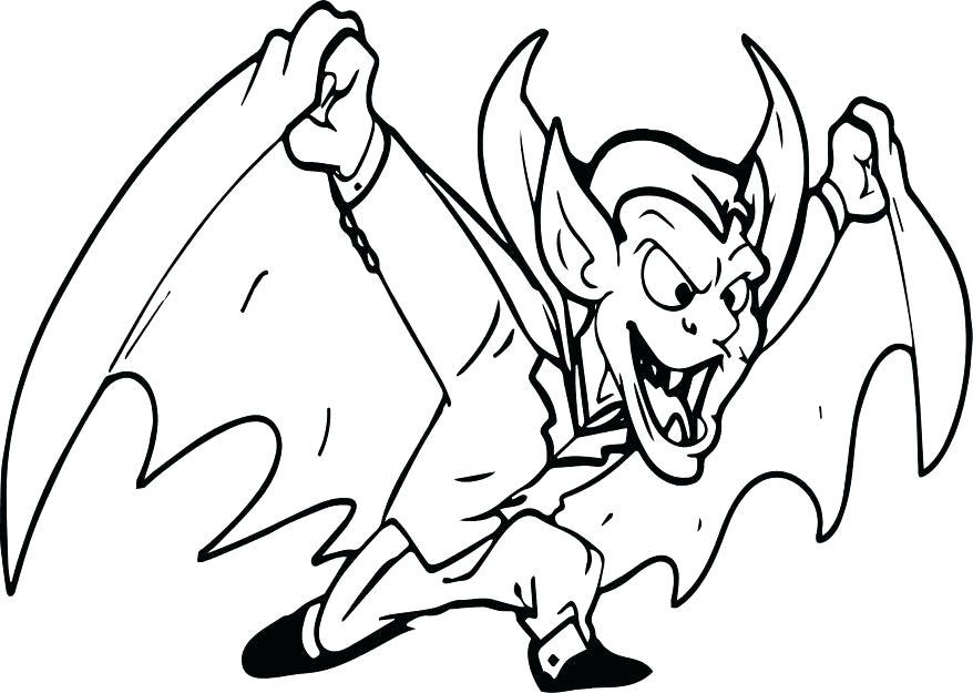 878x625 Vampire Bat Coloring Page Vampire Bat Coloring Page Vampire