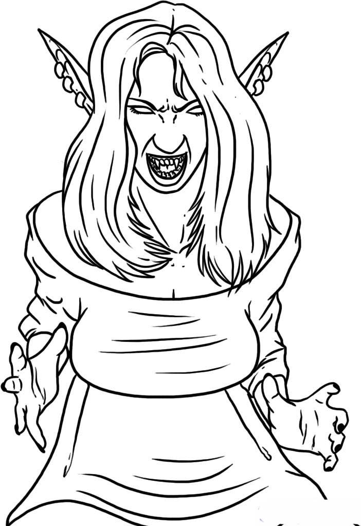 702x1023 Vampire Coloring Pages Beautiful Vampire Girl Coloring Pages
