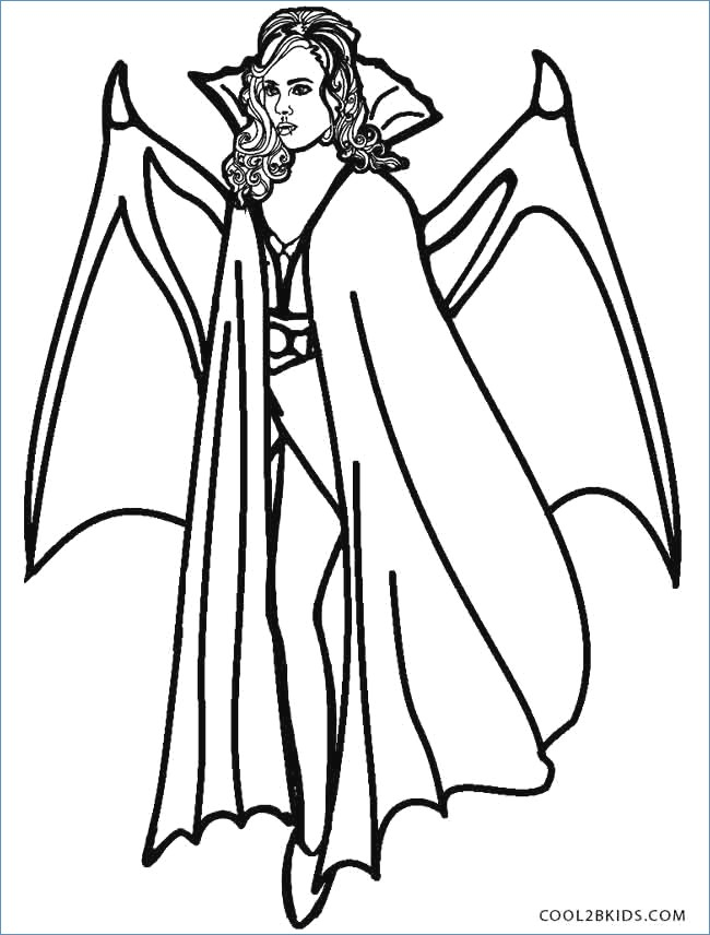 650x856 Scary Vampire Coloring Pages Scary Dracula Halloween Coloring