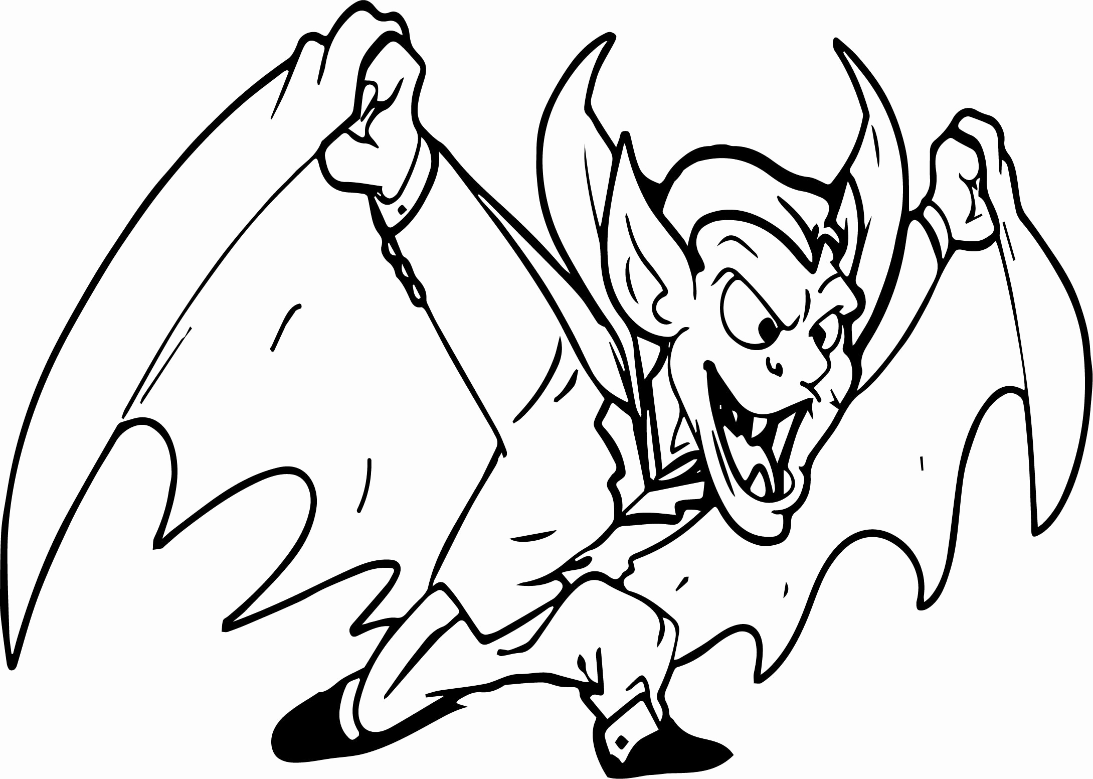 Vampire Coloring Pages For Kids at GetDrawings | Free download