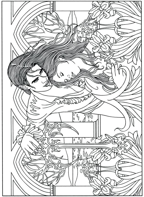 600x820 Vampire Coloring Pages Click The Vampire Coloring Pages Vampire
