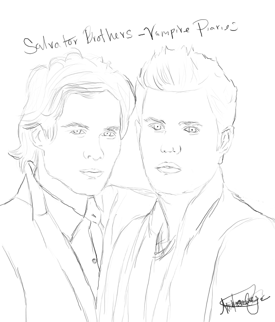 900x1054 Vampire Diaries Coloring Pages Kyrsten Vogts