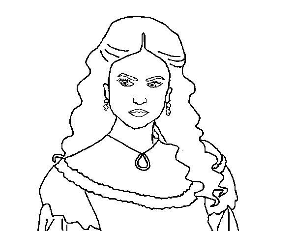 600x470 Vampire Diaries Coloring Pages Online Katherine Pierce