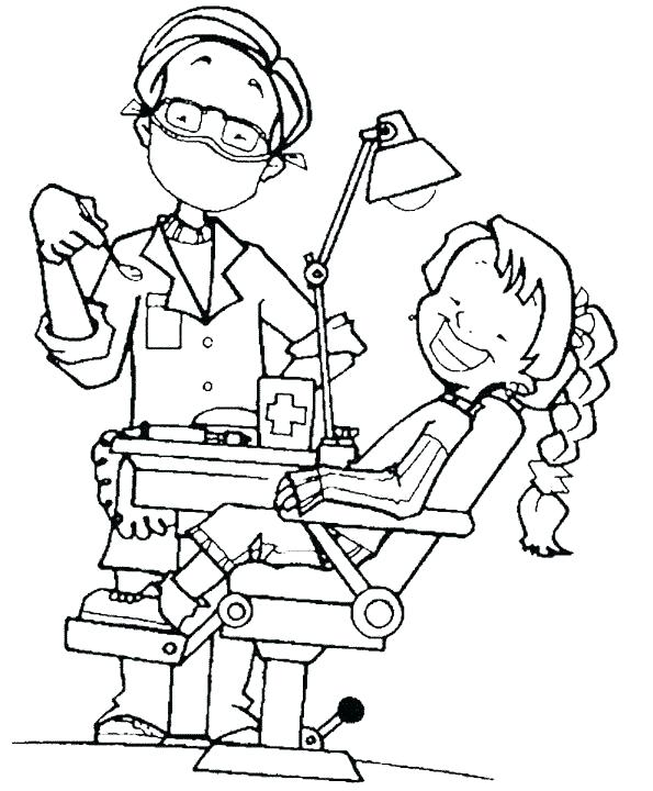 595x720 Teeth Coloring Page Brushing Teeth Coloring Pages And Tooth Page