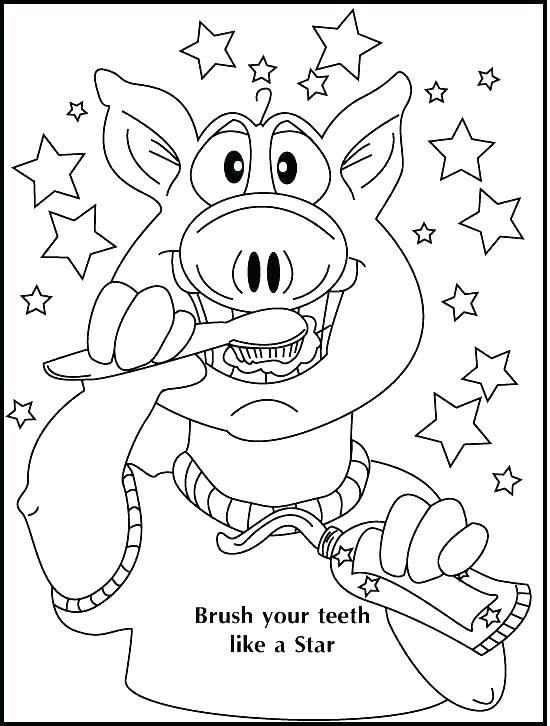 550x726 Teeth Coloring Page Teeth Coloring Page Dental Coloring Books As