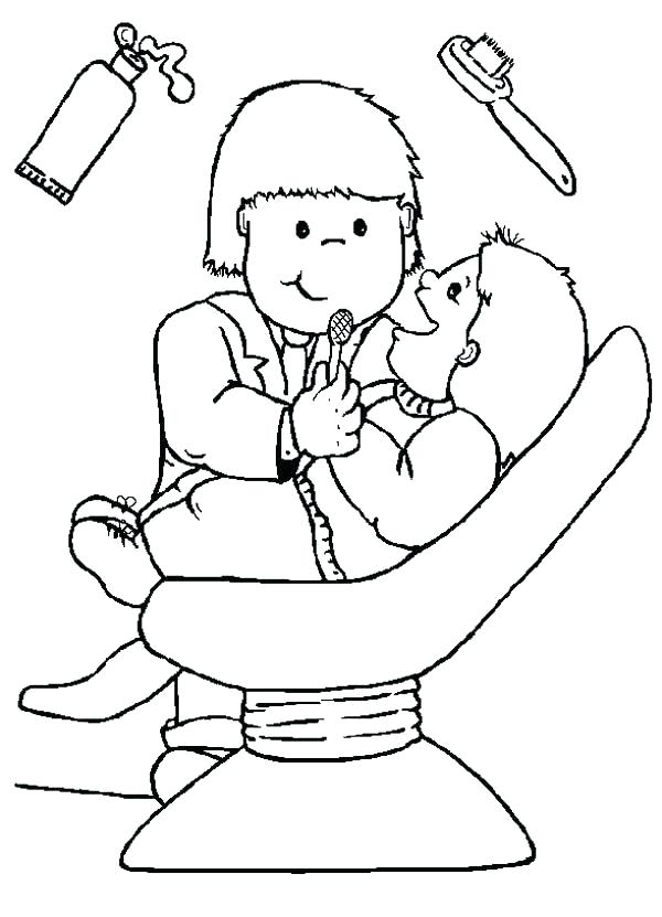 600x831 Teeth Coloring Page Teeth Coloring Pages Printable I Like To Go