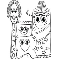 230x230 Top Free Printabe Dental Coloring Pages Online