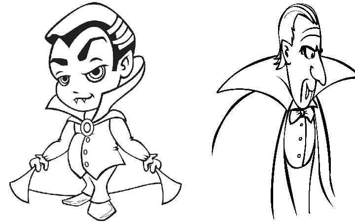 The Best Free Vampire Coloring Page Images Download From 665 Free