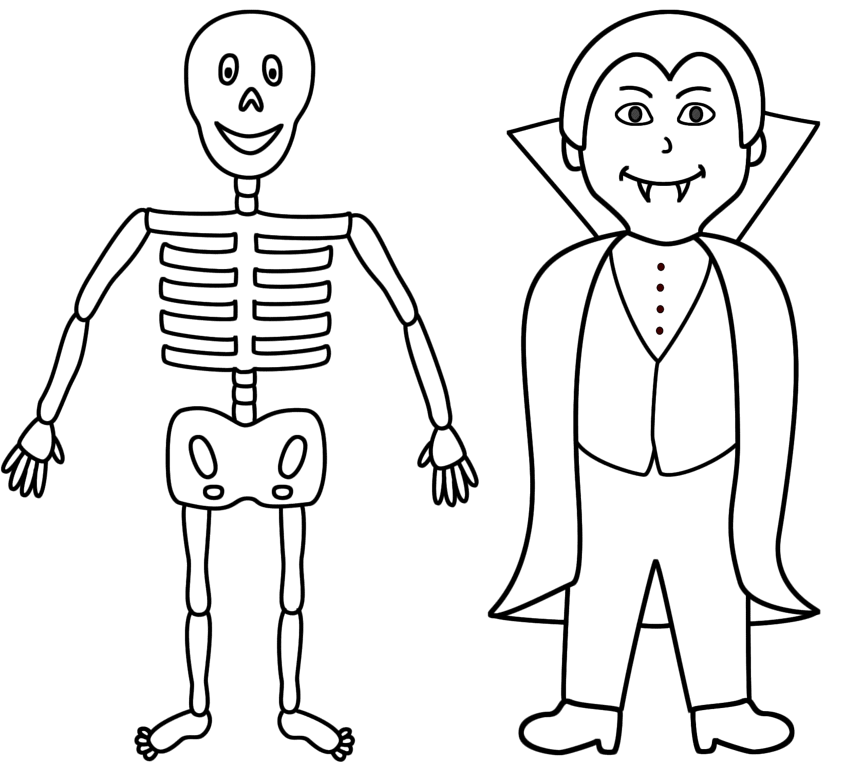 1645x1490 Vampires Coloring Pages