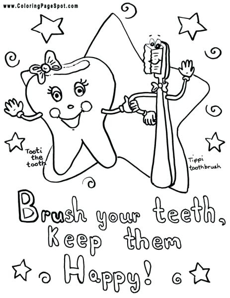 463x600 Coloring Vampire Teeth Coloring Pages