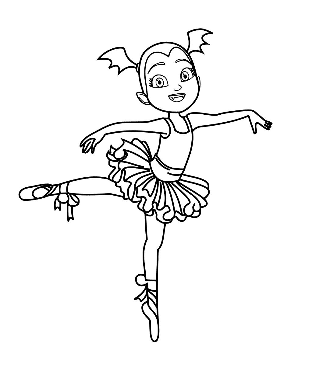 Vampirina Coloring Pages at GetDrawings Free for