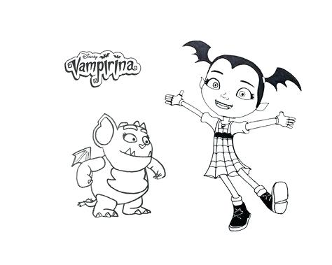 Vampirina Coloring Pages At Getdrawings Com Free For Personal Use