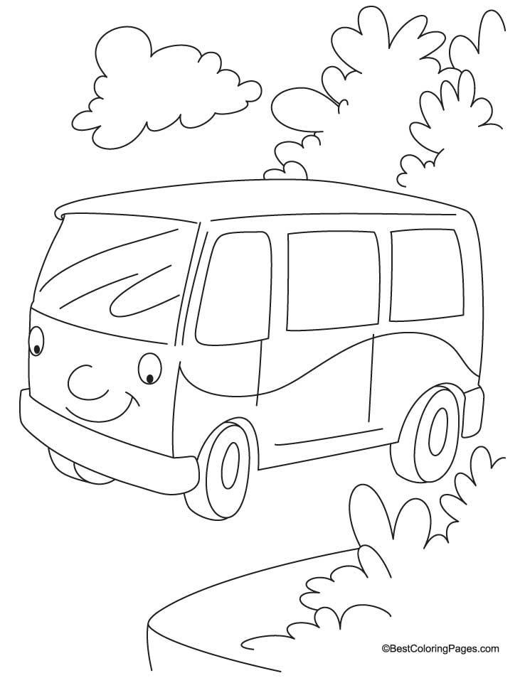 738x954 Jungle Van Coloring Page Download Free Jungle Van Coloring Page