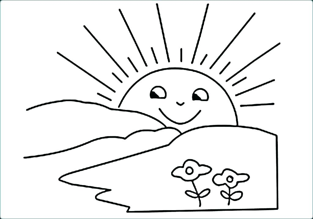 1024x717 Sun Coloring Page Google Search Sun Coloring Page Google Search