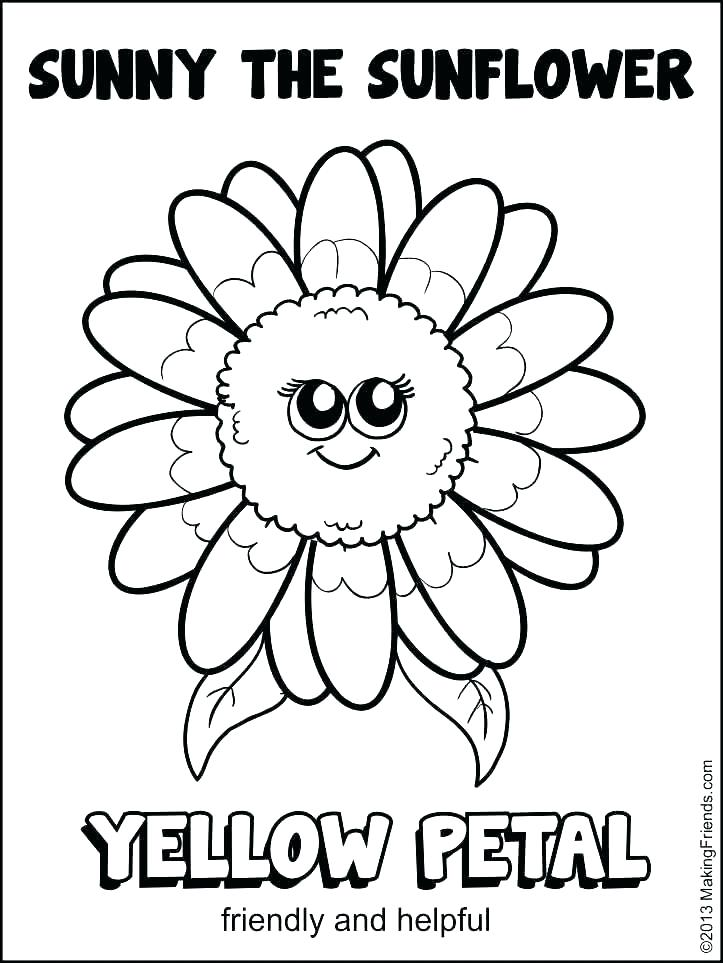 723x963 Van Gogh Sunflowers Coloring Page Sunflower Coloring Pages Perfect