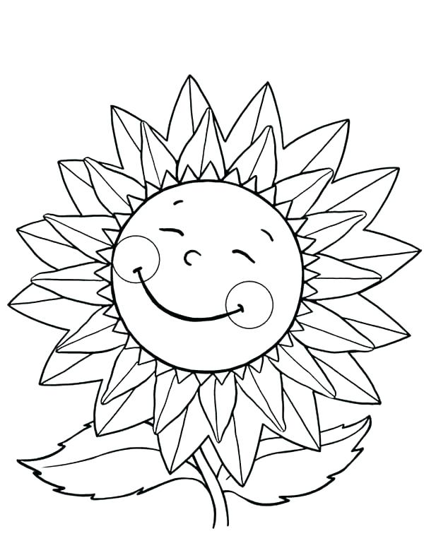600x776 Van Gogh Sunflowers Coloring Pages Kids Coloring Sunflowers