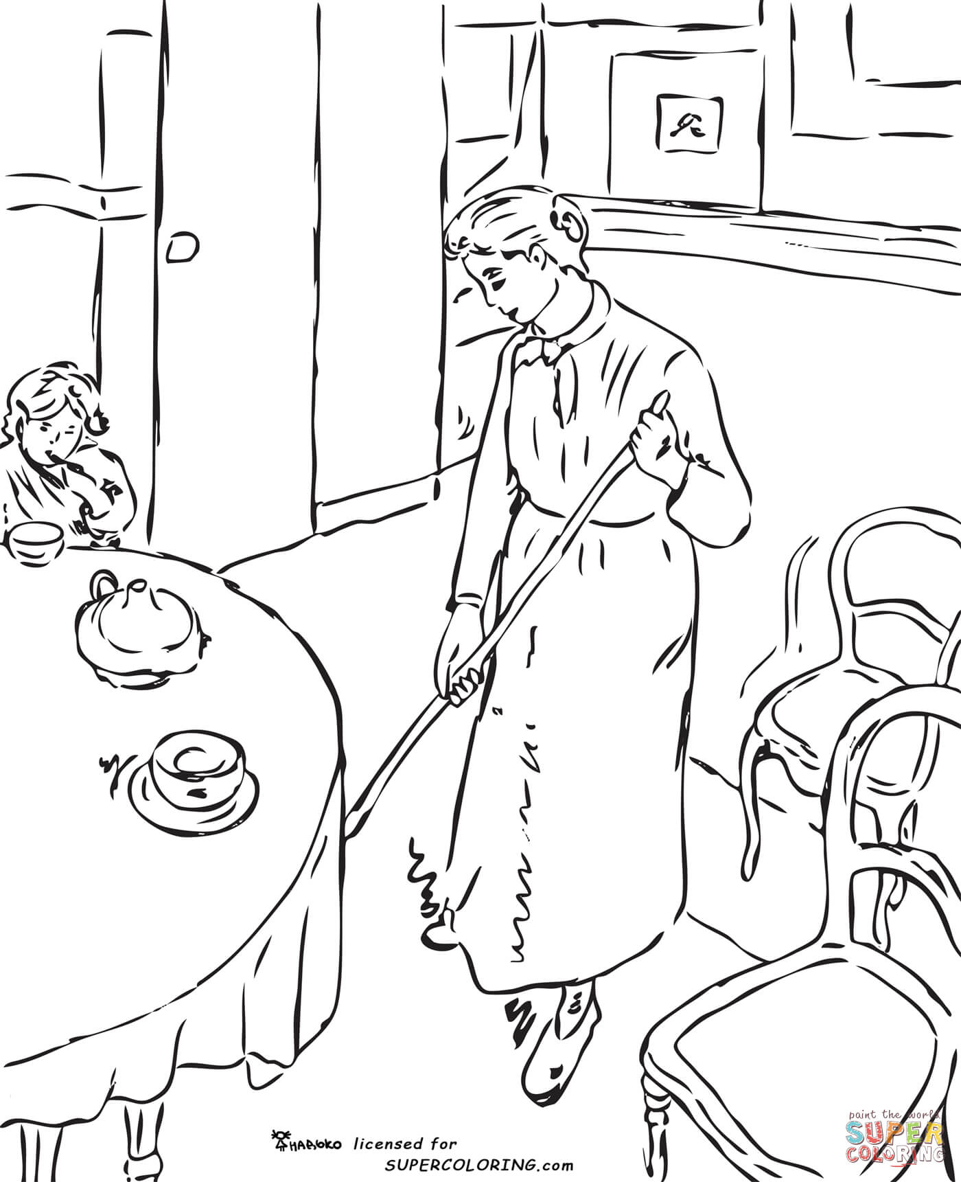1400x1721 Surprise Impressionist Coloring Pages Original