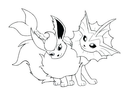 440x330 Vaporeon Coloring Pages Unknown Coloring Pages Vaporeon Colouring