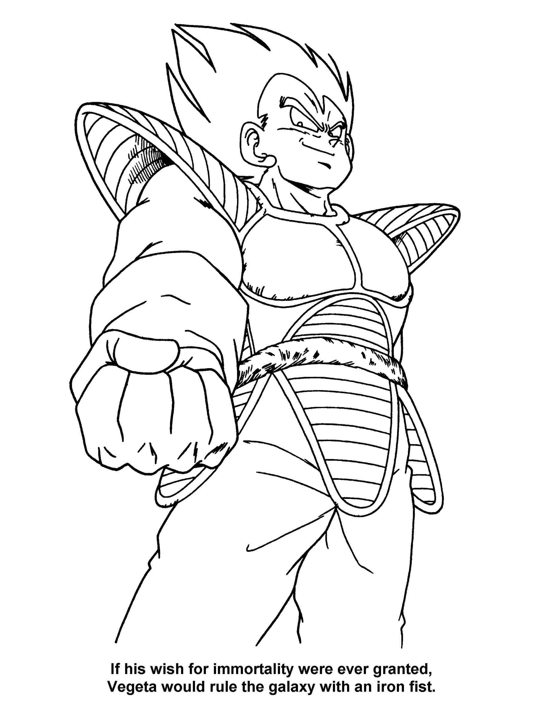1817x2370 Goku Coloring Pages Getcoloringpagescom Dbz Vegeta Pages Dbz Dbz