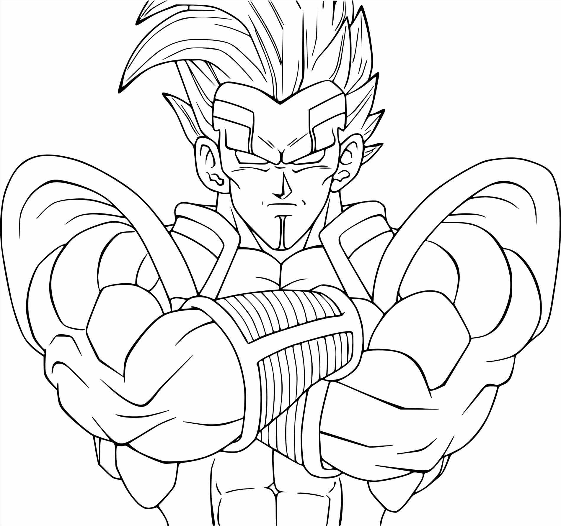 1900x1784 Opportunities Vegeta Coloring Pages Goku Cool