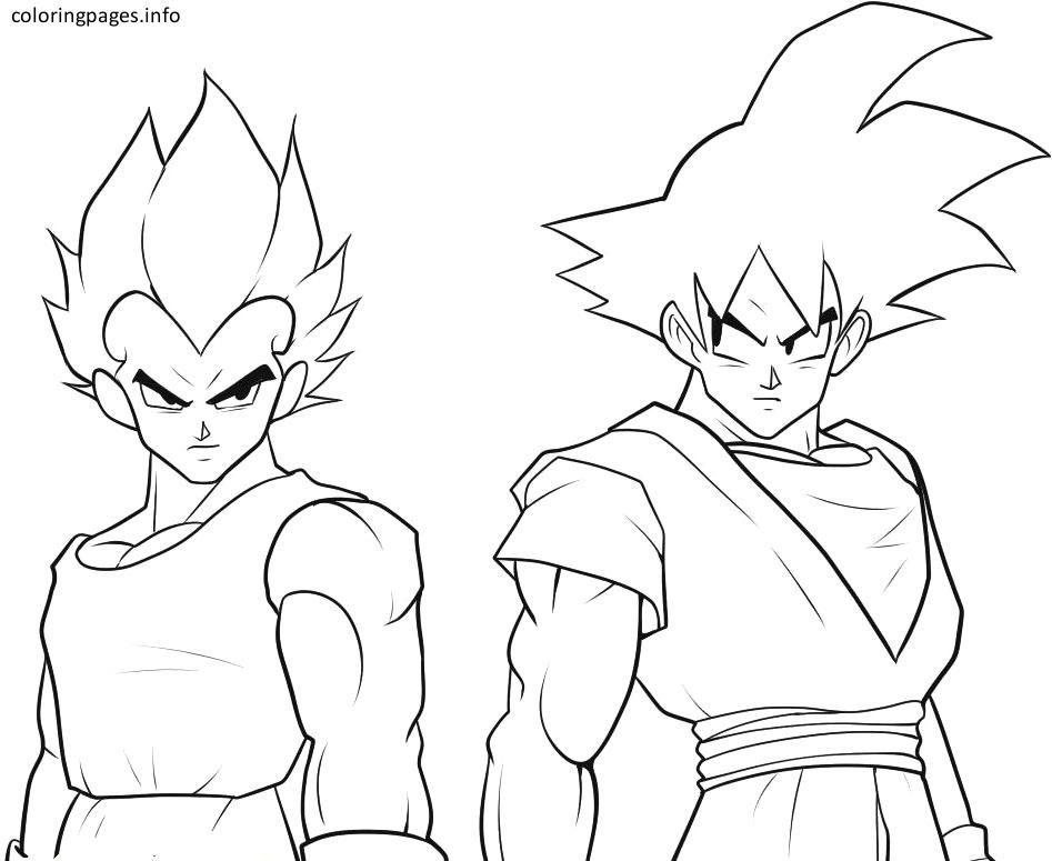947x775 Black Goku Coloring Pages Coloring Pages Black