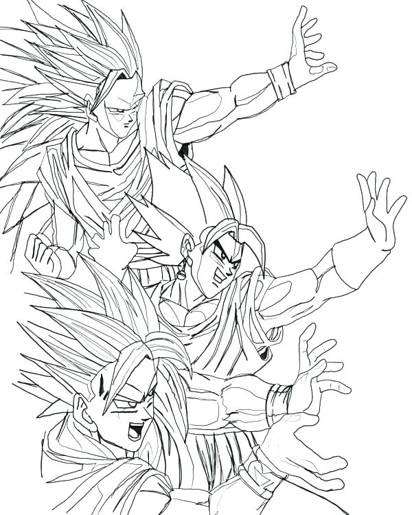 600x750 Coloring Pages Z Coloring Page Awesome Dragon Ball Z Coloring