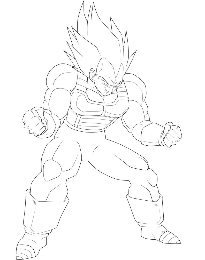793x1007 Vegeta Coloring Pages Images Free Coloring Pages