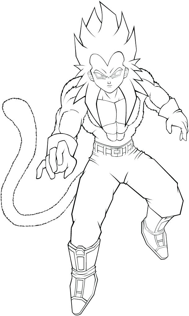 610x1020 Super Saiyan Coloring Pages Dragon Ball Z Super Coloring Pages