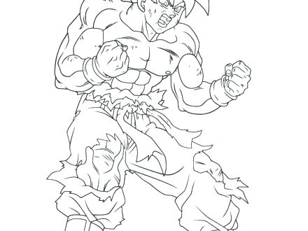 440x330 Vegeta Coloring Pages Coloring Page Dragon Ball Z Super Coloring