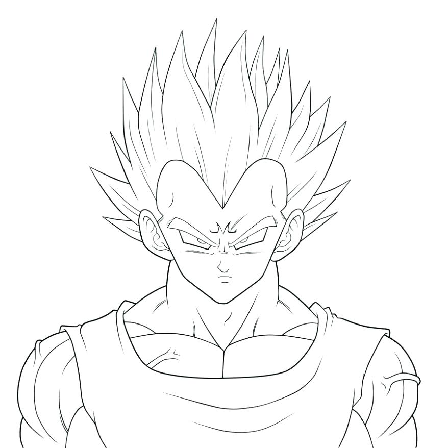 878x878 Vegeta Coloring Pages This Is Coloring Pages Pictures Sheets