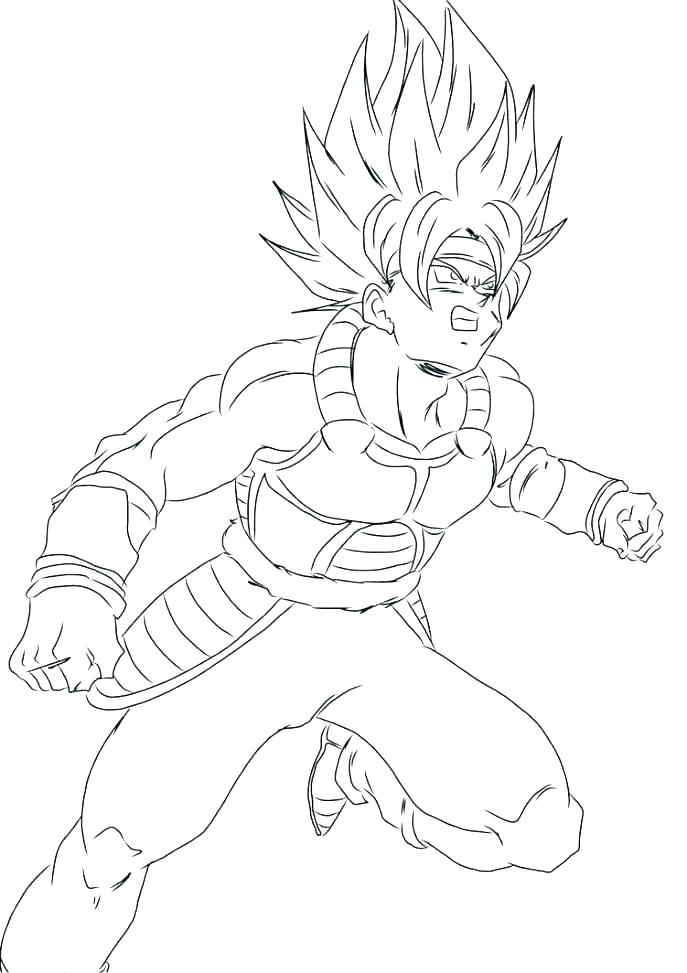 687x973 Dragon Ball Z Coloring Pages On Coloring Dragon Ball Vegeta Super