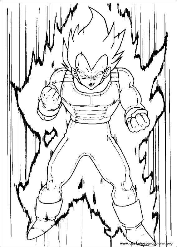567x794 Dragon Ball Z Vegeta Coloring Pages Read Dragon Ball Manga Online